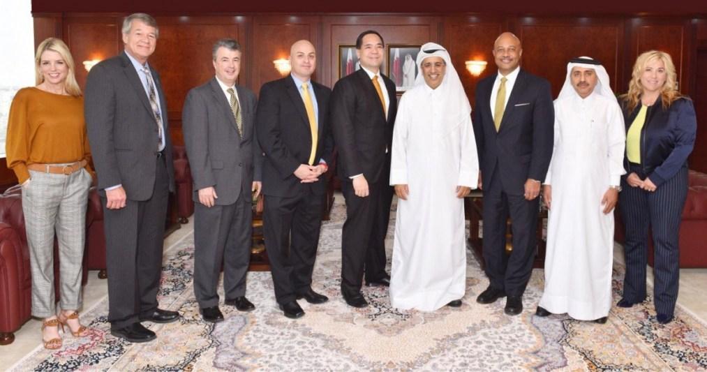 رئيس المجلس الأعلى للقضاء يجتمع مع وفد من النواب العموم ...